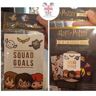 🇬🇧🇬🇧英國代購~Harry Potter A6 notebook,1套3本