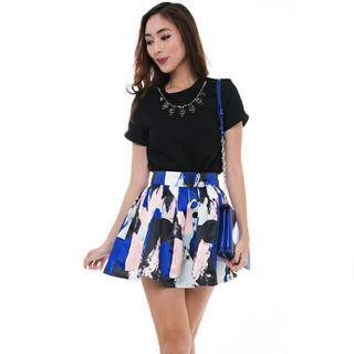 BNWT Brush Prints Skirt