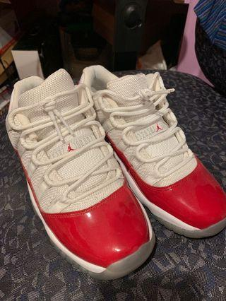 Cherry 11s size 5.5Y