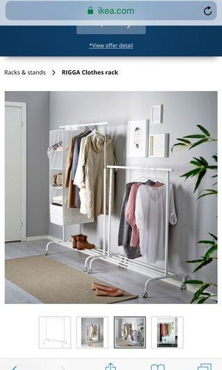 IKEA Clothing stand