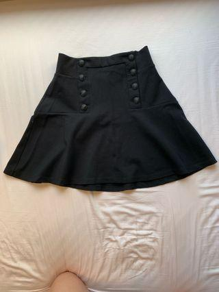 Juicy couture black skirt