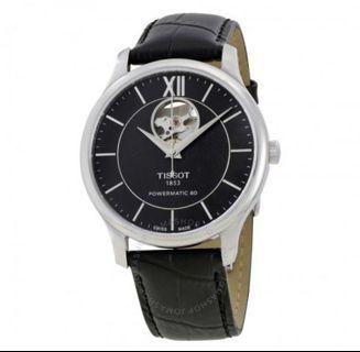Tissot Tradition Powermatic 80 Black Leather Watch T063.907.16.058.00