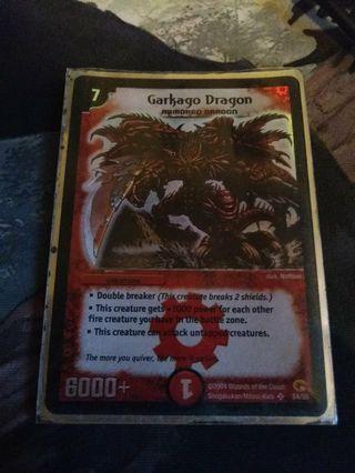 Duelmasters Garkago dragon