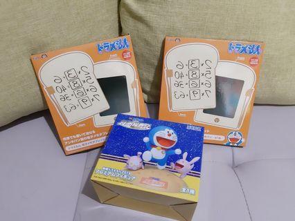 多啦A夢❤記憶麵包❤畫板❤memo tap❤figure❤月面偵測記❤100%日本直送,全新有吊牌。