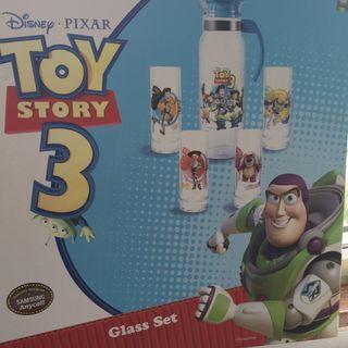 Disney . Pixar Toy Story 3 Glass Set