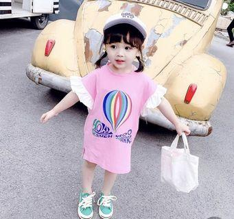 🚚 Ruffle sleeve Korean style oversize T- shirt