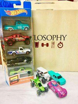 Hotwheels 5 pack and set loose