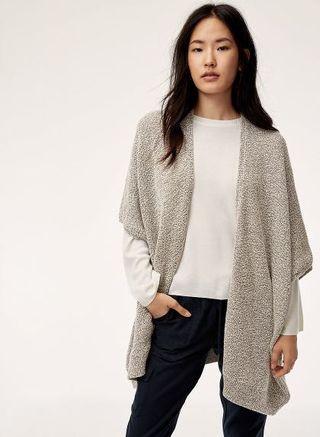 Aritzia Ionic Sweater cape BNWT