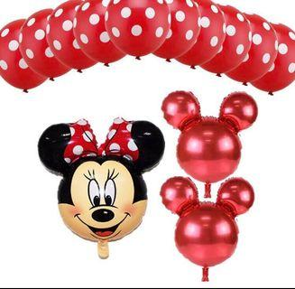 Brand New Minnie/ Mickey Mouse Balloon Set