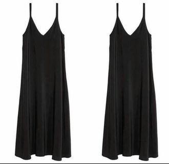 Trickntricky Slip Dress Black