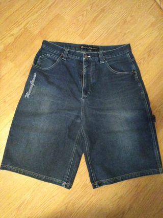🔵men's jeans shorts size 36