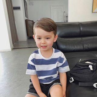 🚚 Korean Style Boy Stripe Tops