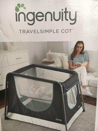 Ingenuity Beaumont Travel Simple Cot