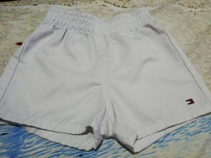 Tommy Hilfiger white shorts for baby boy