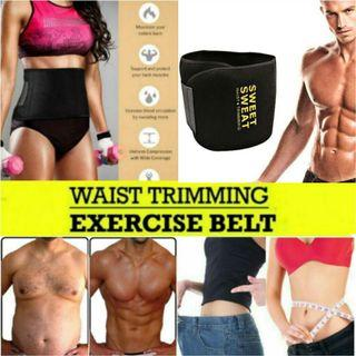 Unisex Waist Trimmer Belt Weight Loss Sweet Sweat Wrap Workout/Exercise/Fat Burner Tummy Stomach Sauna, Weight Loss Slimming Ab Belt for Women & Men for Only $12.90+FREE Mail Postage!