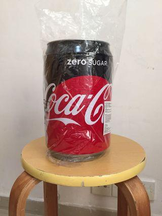 全新 可口可樂 巨罐 儲物罐 100% new Coca Cola container for keep or collection