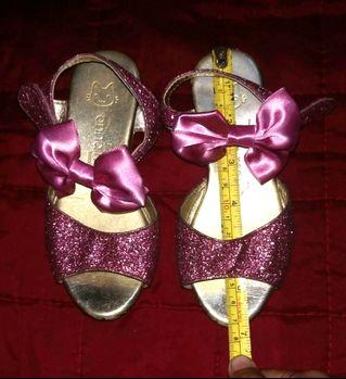 Bow Sandal with glitters