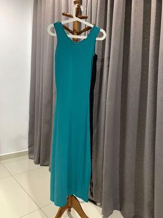 Dress - dark mint colour