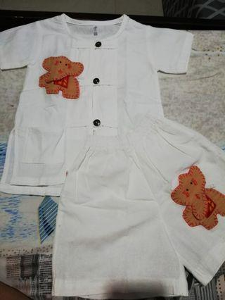 Thai outfit for baby boy