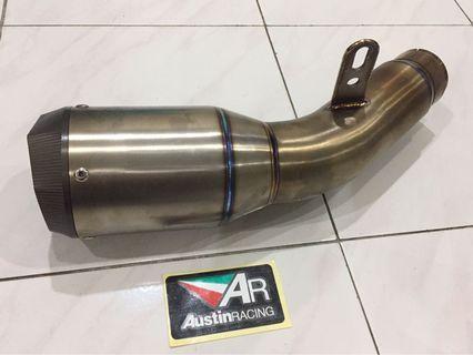 Austin Racing slip on exhaust S1000RR '15-'18