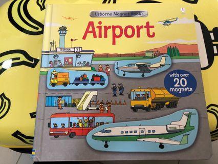 Usborne Magnet Book : Airport 80%新