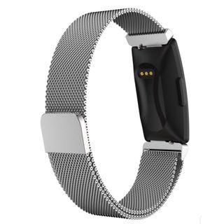 Fitbit Inspire /Inspire HR Watch Band Stainless Steel Milanese Loop Wrist Strap