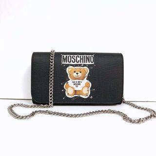 (現貨) 💜超特價 Moschino crossbody handbag 銀鏈手袋