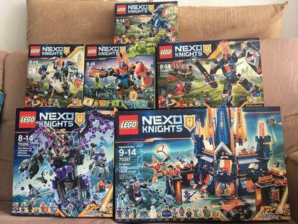 LEGO Nexo Knight Set