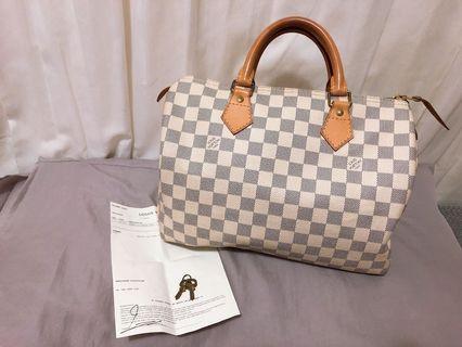 Louis Vuitton LV 包包 Speedy 30