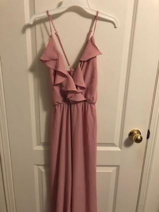 BNWT pink jumpsuit