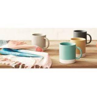 Mark Tuckey for Cotton On - set of 2 light grey mugs