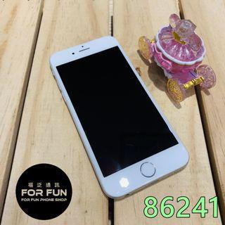 🌈(二手)Apple iPhone 6 128GB 銀色,外觀9成新,備用長輩機首選,有實體店面提供無壓力無卡分期歐!