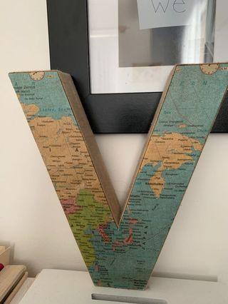 World map V.
