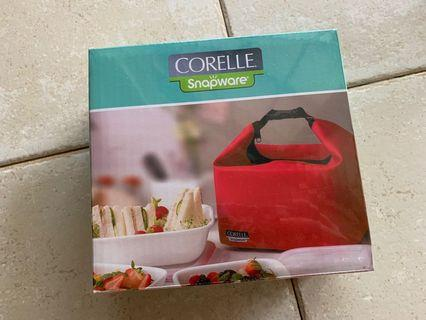 Corelle serve & store insulated bag - red