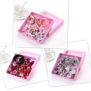 (18pcs)set boxs Baby flowers bow tie headband ..princess style hair