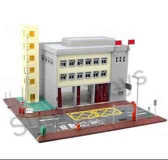 Tiny 微影 城市 Bd1 消防局模型套裝