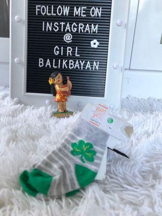 Baby's are lucky☘️! New Carter's 4 leaf clover🍀 sock