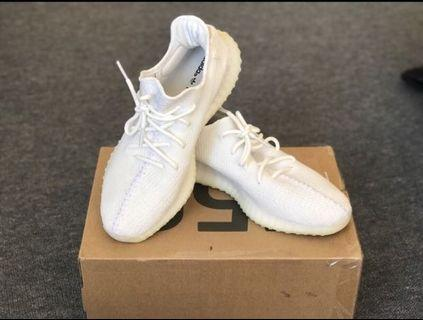 Yezzy boost 350 triple white