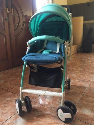 Stroller bayi anak merk oyster light n move