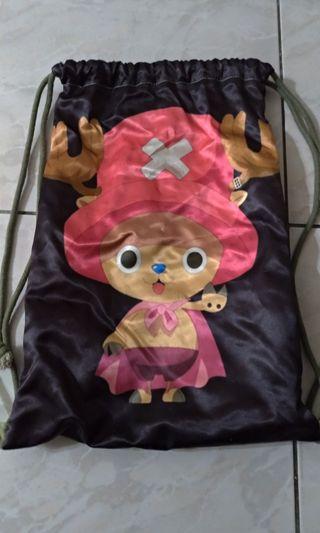 海賊王 喬巴束口袋包包
