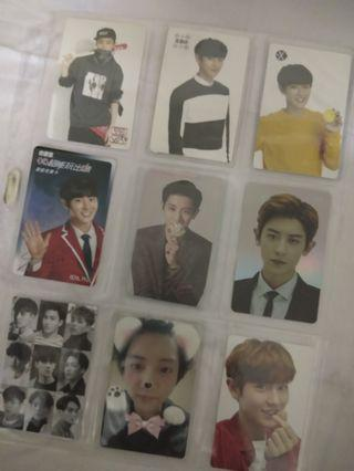 EXO CHANYEOL OFFICIAL PHOTOCARD