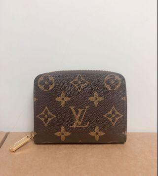 Louis Vuitton Zippy Coin Purse Monogram Canvas