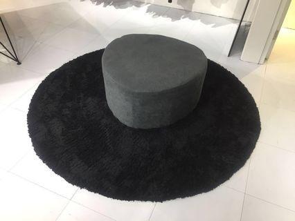 灰色布藝梳化(Grey Textile Sofa)#Lalamove