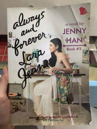 Novel always and forever,lara jean
