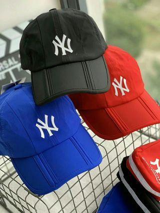 韓國MLB 新款 折疊棒球帽 老帽 司機帽
