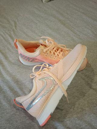 Nike Peach Sneakers