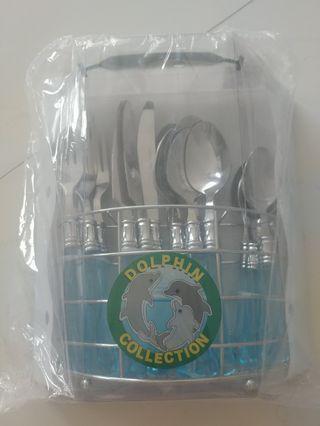 🚚 Brand New Dolphin Utensils Cutlery Set