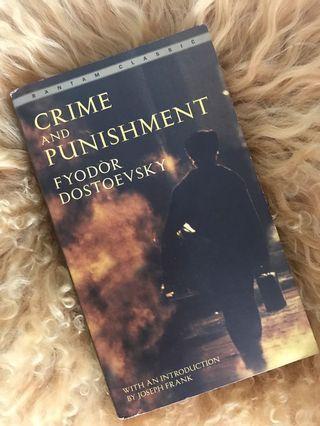 Crime & Punishment Book by Fyodor Dostoevsky