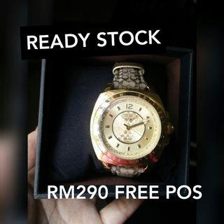 AUTHENTIC COACH WATCH READY STOCK