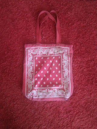 Old Navy Paisley Tote Bag